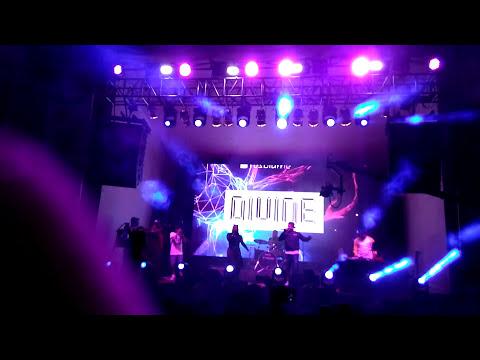 DIVINE & Raja Kumari song Mute live at...