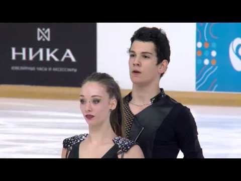 2016 ISU Junior Grand Prix - Saransk - Free Dance - Julia WAGRET / Mathieu COUYRAS FRA