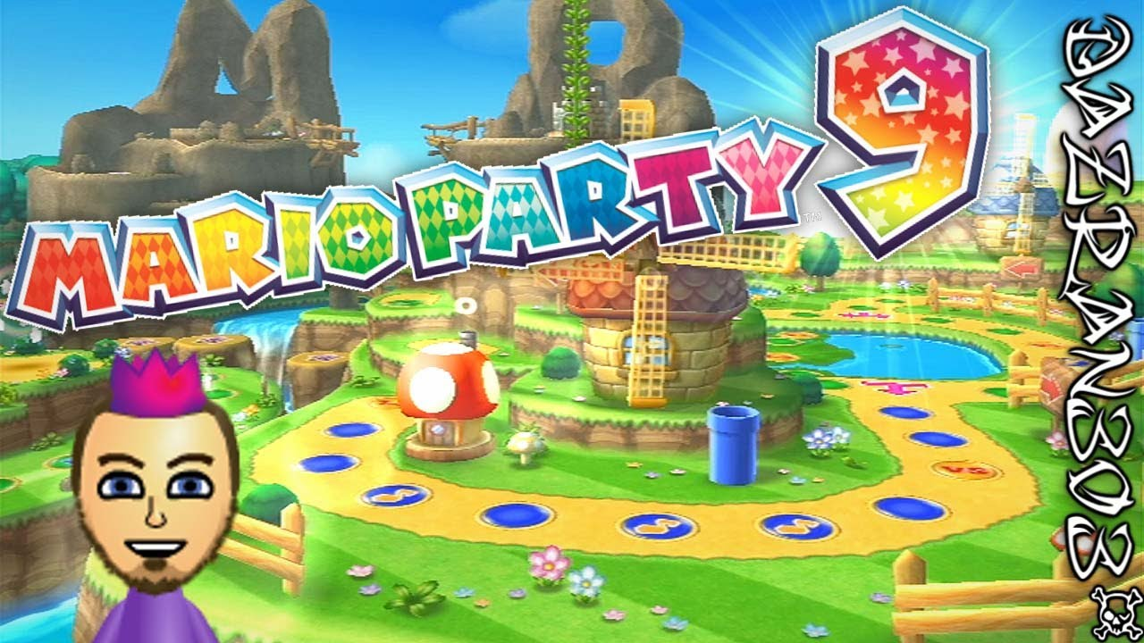 Mario Party 9 Lets Play - Ep 1 Let's Start This Party | Toad Road Board  Gameplay [1/2]