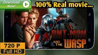 How to Download Ant-man and the wasp full HD Movie in Hindi | 100% Real movie | Must watch!