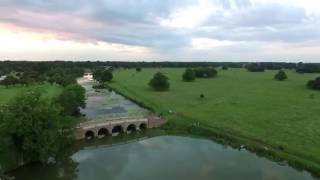 Burton Constable, Evening lake flight