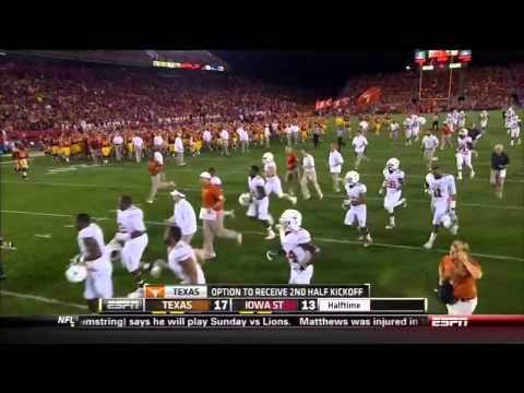 #12 Oklahoma State vs #24 Texas 2013