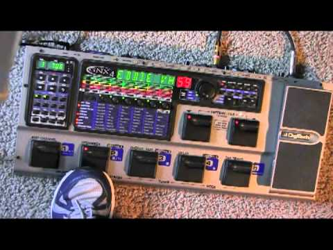 Digitech GNX4 Recording and looping