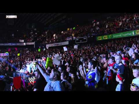 Money in the Bank 2011  CM Punks entrance