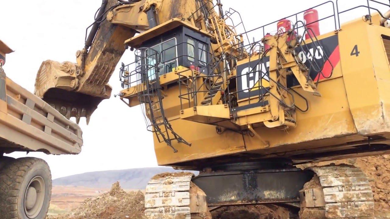 Caterpillar Excavator 6040 Amazing Sound Youtube