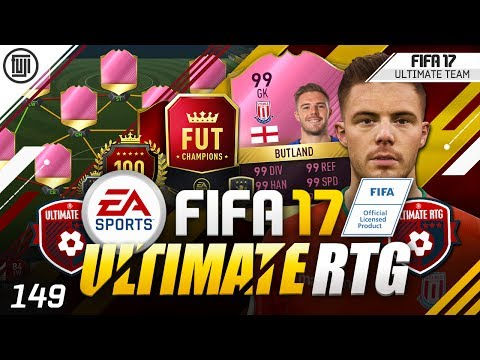 FIFA 17 ULTIMATE ROAD TO GLORY! #149 - CRAZY CREATION!!!!
