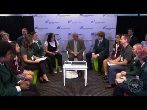 Charles Bolden talks to the Mars Lab