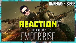 REACTION EMBER RISE - AMARU, GOYO, REWORK KANAL - RAINBOW SIX SIEGE