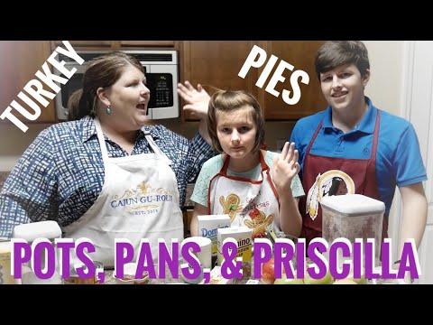 Juicy Turkey, Cinnamon Roll Apple Pie, & Pumpkin Pie...From A Can