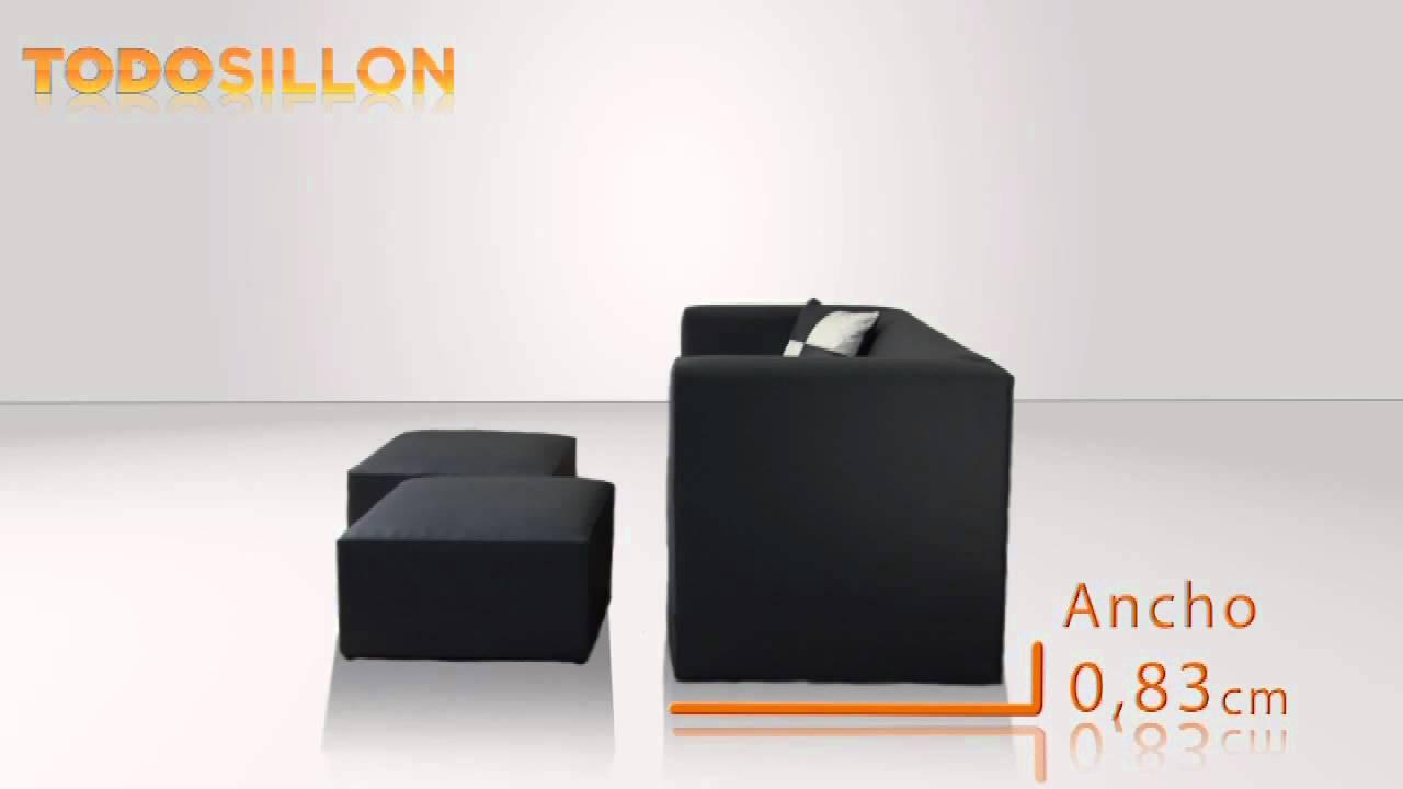 sillon moderno con puff incorporados visitanos en wwwtodo silloncomar y cotiz tu sillon