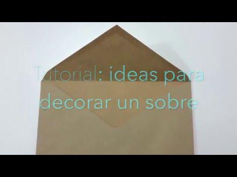 Ideas para decorar un sobre youtube - Como decorar un sobre ...