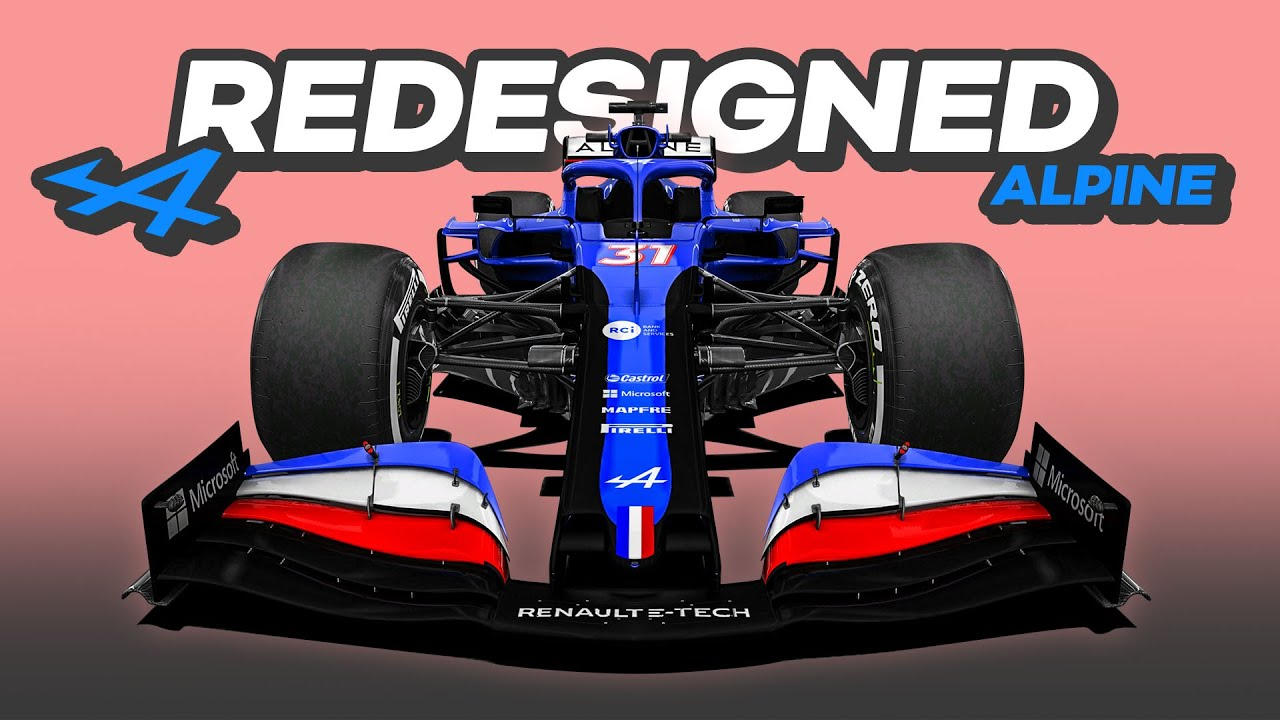 My REDESIGN of the 2021 Alpine Formula 1 Car