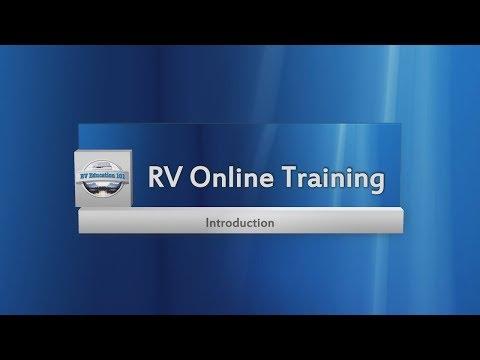 RV Online Training Program Introduction