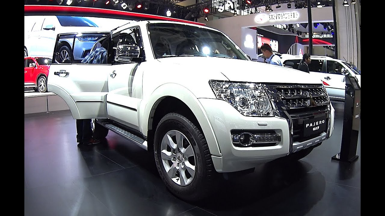 This is the Beijing Jeep Mitsubishi Montero Pajero 2016 ...