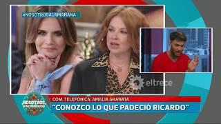 Amalia Granata contra Andrea del Boca y su abogado Fioribello