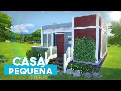 The Sims 4: Speed Build | Pequeña Casa Moderna