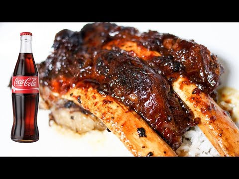 Easy Coca-Cola BBQ Beef Korean-Style Ribs Recipe | BARELY ASIAN COOKING