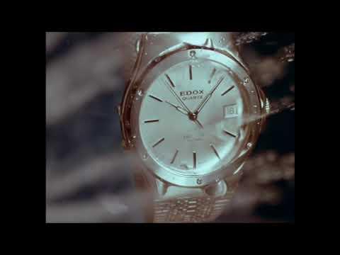 Edox Delfin Vintage Advertising - The Water Champion