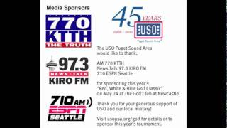 New USO Puget Sound Area PSA (710 ESPN Seattle, AM 770 KTTH, News Talk 97.3 KIRO FM)