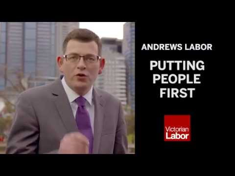 Daniel Andrews - Putting People First