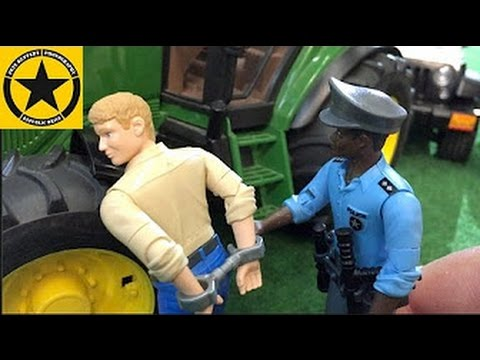 Bruder Toys Tractor Driver Gets Busted In Jack S Bworld