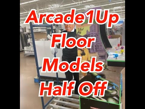 Arcade1Up Walmart Selling Floor Models Less Then Half Off Arcade 1up Prices from rarecoolitems