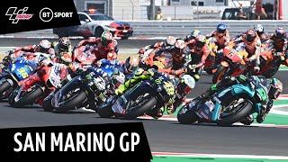 MotoGP Highlights: San Marino (2020) | Another surprise winner in the most unpredictable season ever