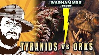 Как играют в Warhammer: Ork vs Tyranids (1850 pts)(Подписываемся в соцсетях - http://vk.com/fatfarthulk !!! Тут можно приобрести всё это добро - skaystore.ru Как подписаться на..., 2015-10-19T17:09:01.000Z)