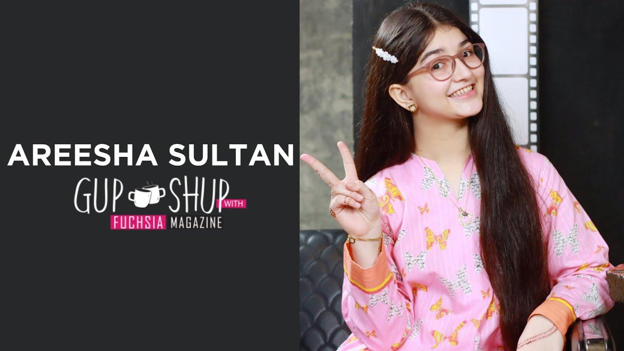 Download Areesha Sultan Aka Mirchi | Chupke Chupke | Gup Shup with FUCHSIA
