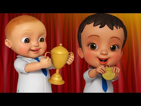 Download Annual Day-Hard Work Makes You Win | Telugu Rhymes for Children | Infobells