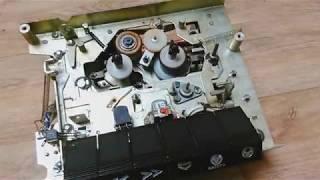Oprava rádia s magnetofonem (Tesla B202A Kompas) 2.díl-magnetofonová mechanika