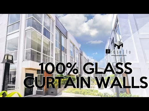 100% GLASS CURTAIN WALLS | Prized Upscale MODERN TOWNHOUSES for Sale in Mandaluyong | House Tour 62