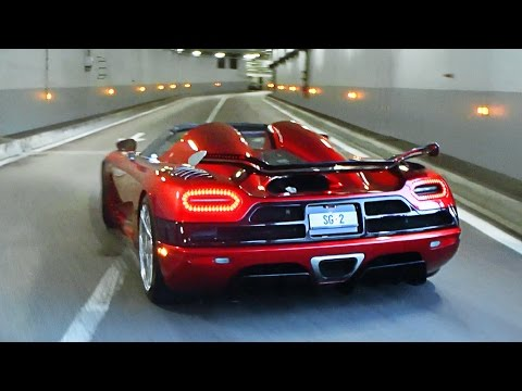 Koenigsegg Agera R sounds in Monaco