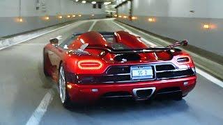 Download Video Koenigsegg Agera R sounds in Monaco MP3 3GP MP4