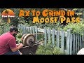 Rving Alaska: Having an Ax to Grind in Moose Pass