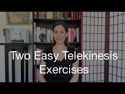 Two Easy Telekinesis Exercises