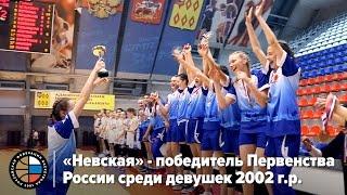 «Невская» - победитель Первенства  России среди девушек 2002 г.р.