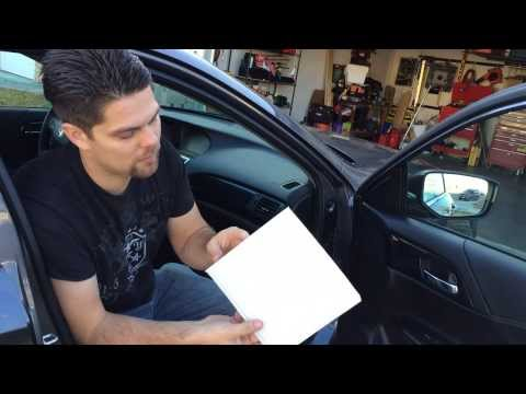 How To Replace Cabin Air Filter 2017 Honda Accord All Models