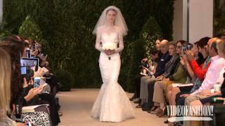 Carolina Herrera Bridal Spring/Summer 2014 - Videofashion