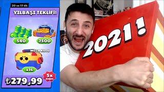 Yılbaşı Teklifi ve Brawl Stars 2021 YILBAŞI KUTUSU AÇILIMI