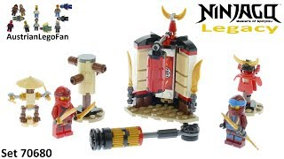 Lego Ninjago Legacy 70680 Monastery Training - Lego 70680 Speed Build
