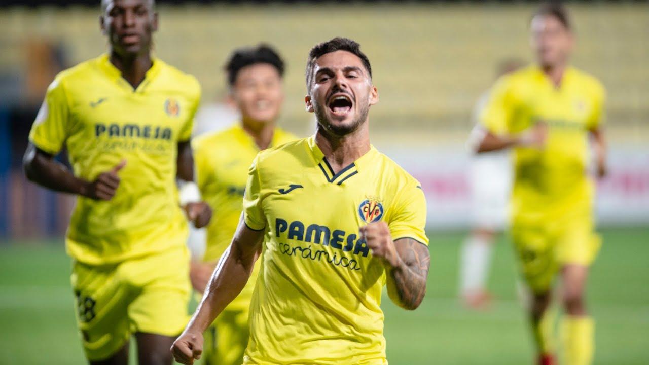Goles del Villarreal B 3-0 Albacete Balompié