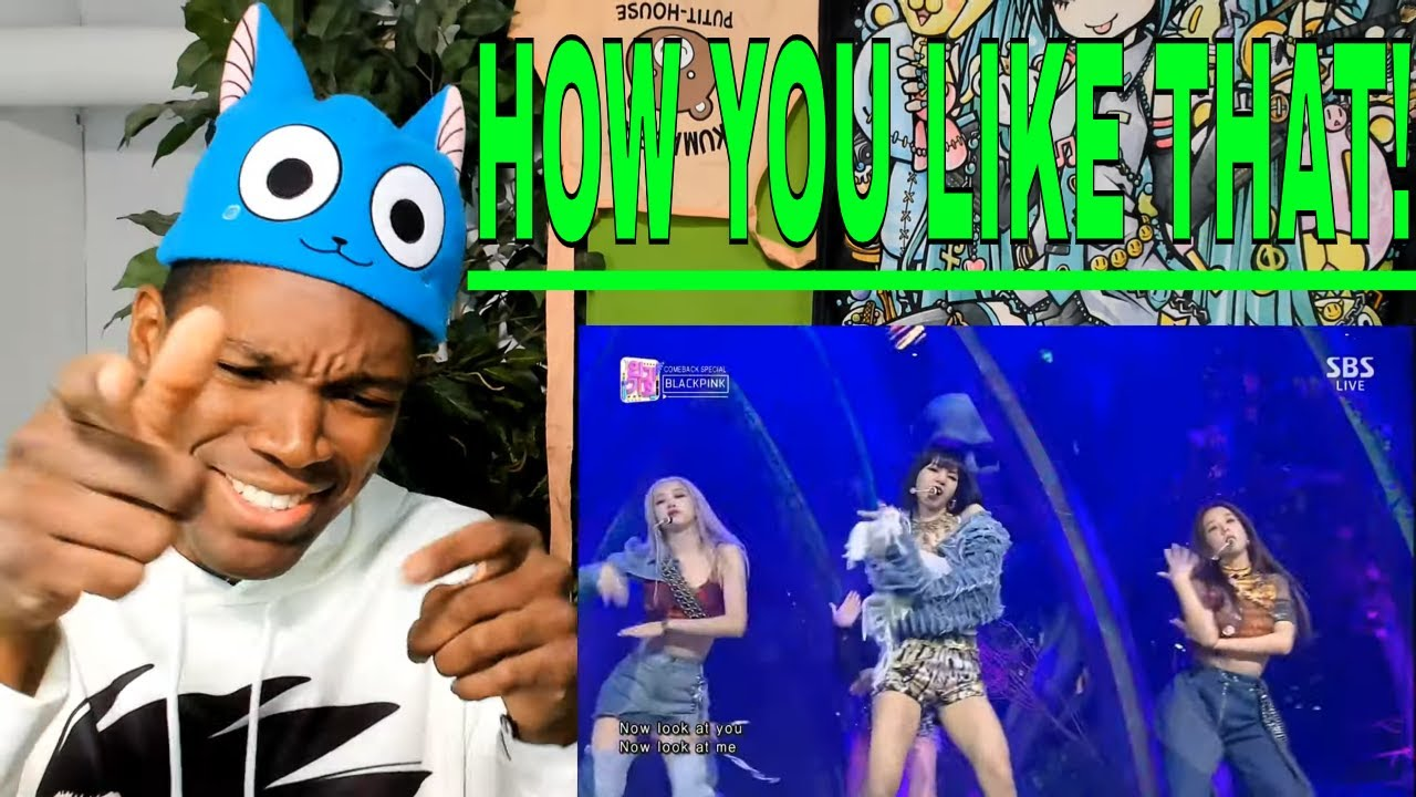 BLACKPINK - 'How You Like That' 0628 SBS Inkigayo | REACTION