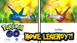 LATIOS I LATIAS W POKEMON GO! NOWE LEGENDY?! PAN WOJTEK POKEMON GO PL