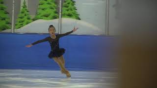 Jenny Nguyen at 2018 Pacific Regional Figure Skating Championships