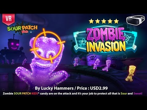 Sour Patch Kids: Zombie Invasion Candy are on the attack & it's your job to protect them all
