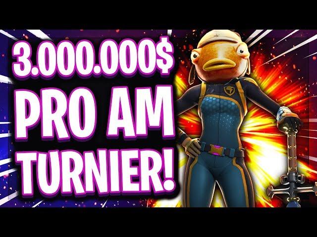 😱💰3.000.000$ Promis + Fortnite Youtuber Duo Turnier! | 😂Europäer disrespected alle Amerikaner!