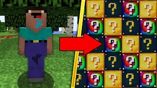 НУБ ПРОТИВ ЛАКИ БЛОКОВ В МАЙНКРАФТ ! Мультик Майнкрафт Minecraft