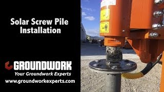 Guardrail Screw Pile Drive Attachment