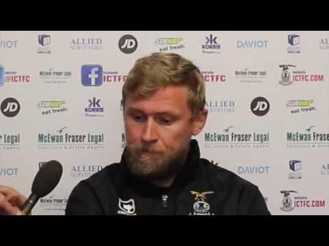 CaleyJagsTV : Richie Foran Preview v Rangers FC : 14/10/16